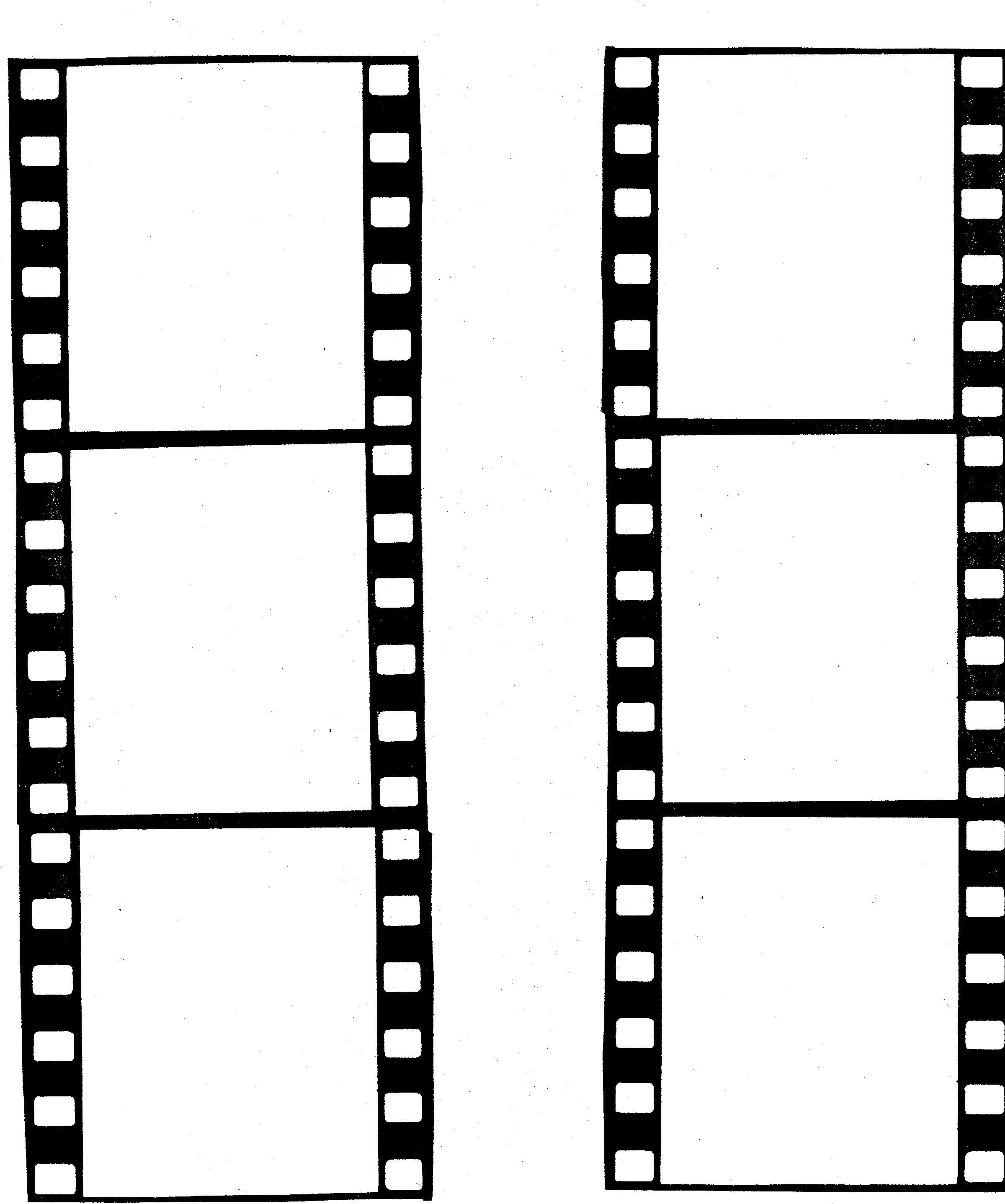 Free film strip border template clipart 2