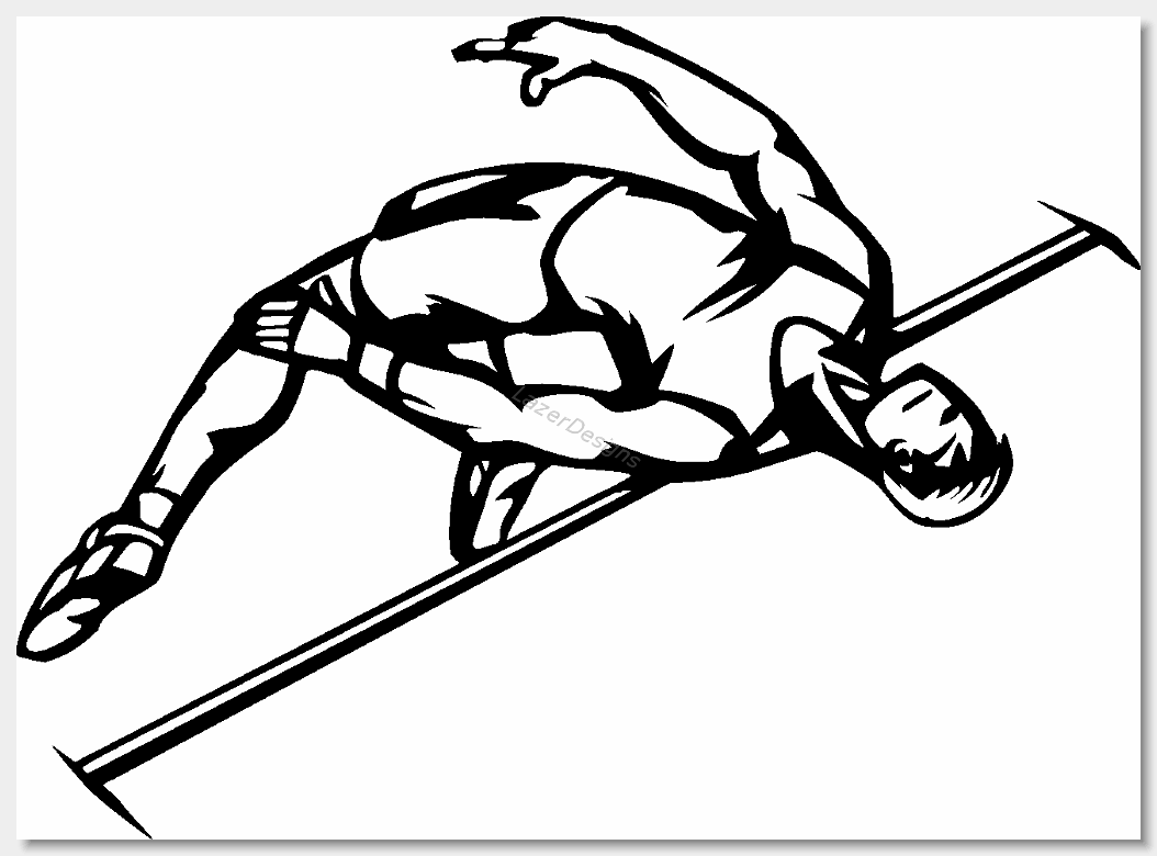 Free track and field clipart 6
