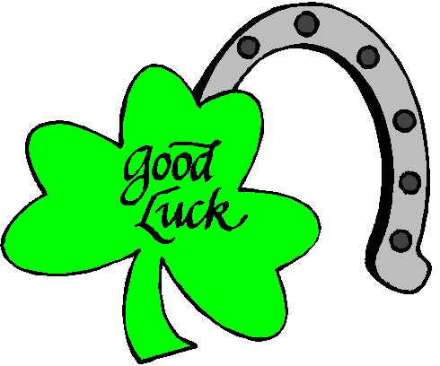 Good luck clipart 5