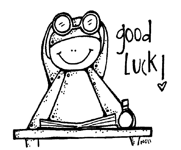 Good luck clipart black and white clipartfest 2