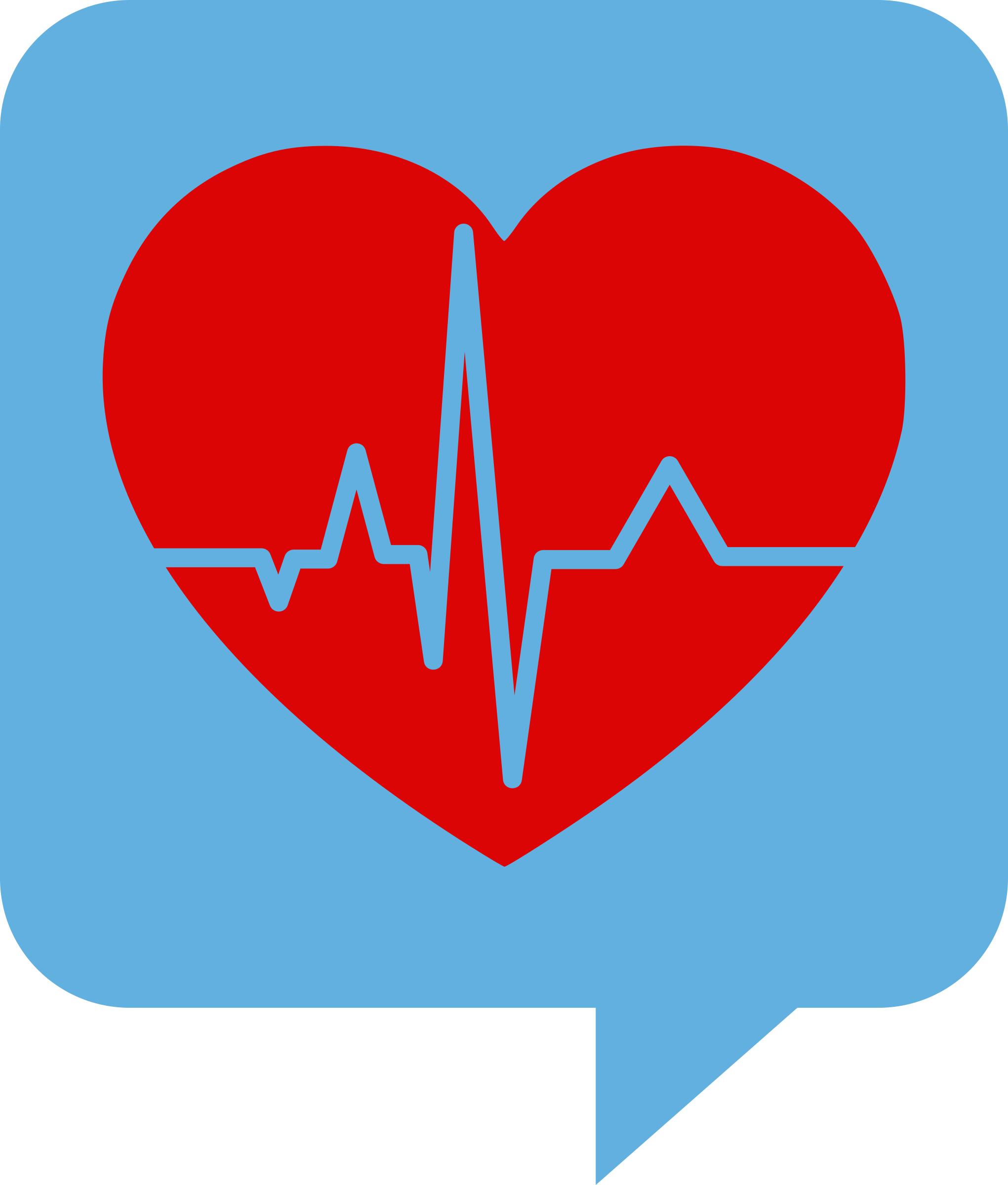 Heartbeat logo for health clipart cliparts and others art