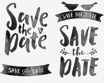 Save the date no date clipart clipartfest 2