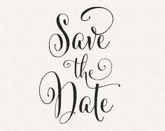 Save the date no date clipart clipartfest