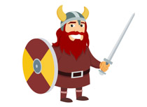 Search results for viking shield ax norseman cliparts