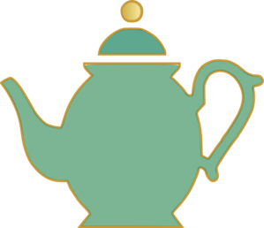 Teapot clipart black and white free images 4