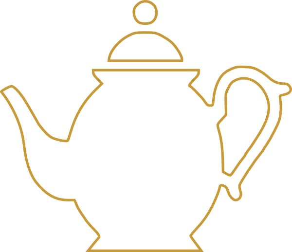 Teapot clipart black and white free images 6