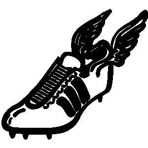 Track and field track shoe clipart cliparts