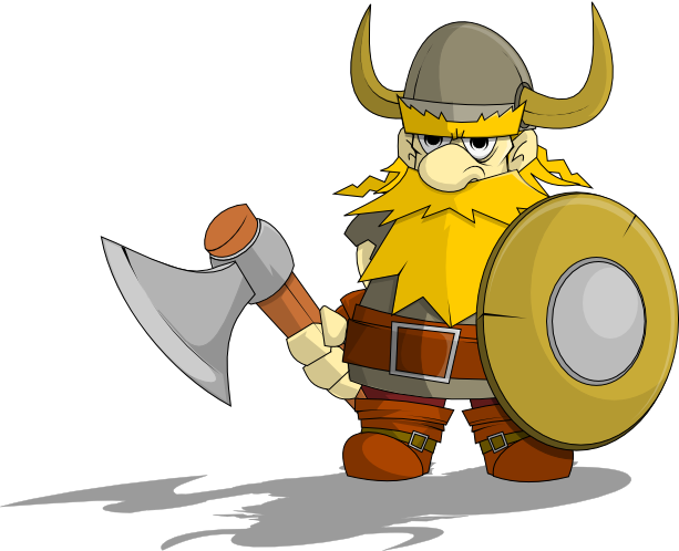 Vikings clip art and on