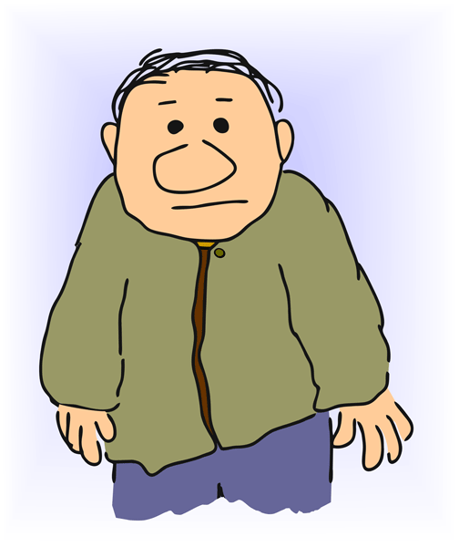 An old man clipart clipartfest