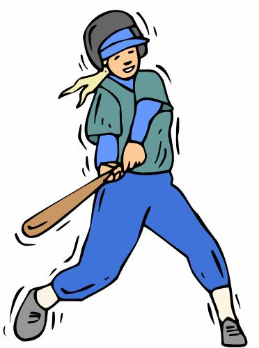 Baseball player clipart free download clip art