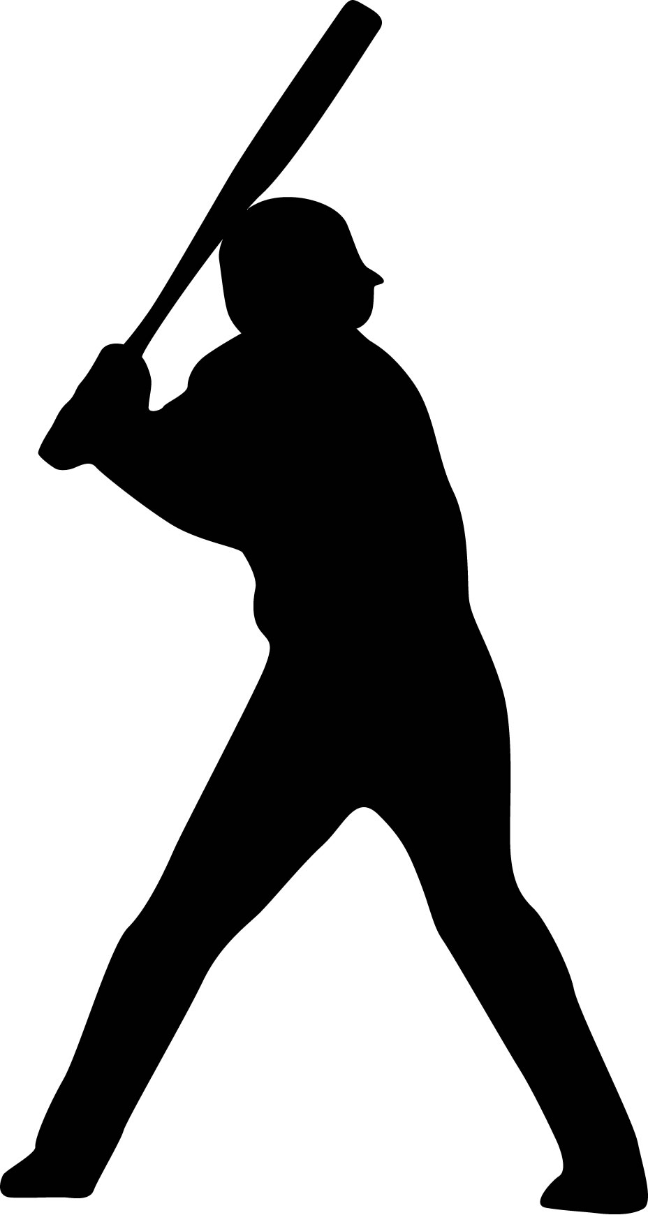 Baseball player the world cliparts