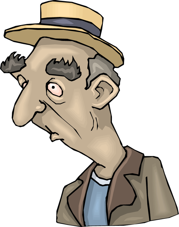 Black old man clipart clipartfest