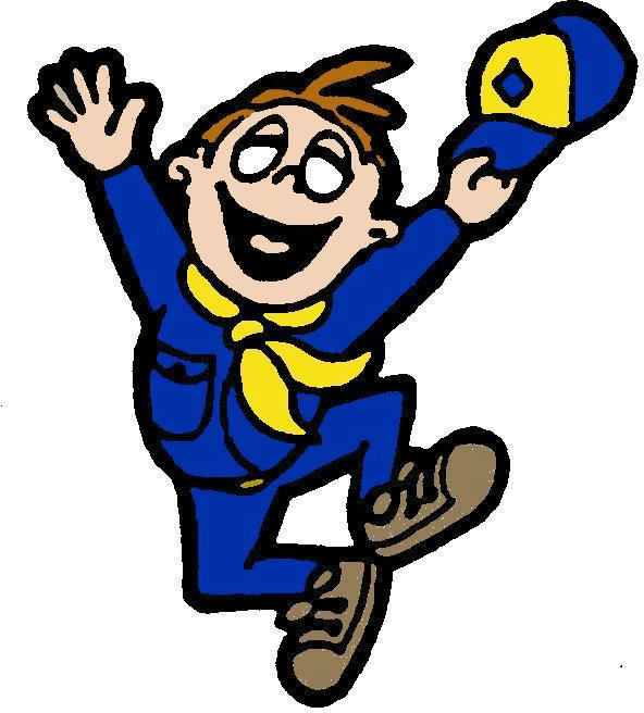Boy scout cub scout cartoon clipart 3