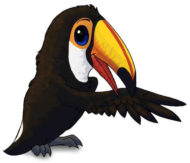Cartoon toucan toco toucan by starrypoke on deviantart