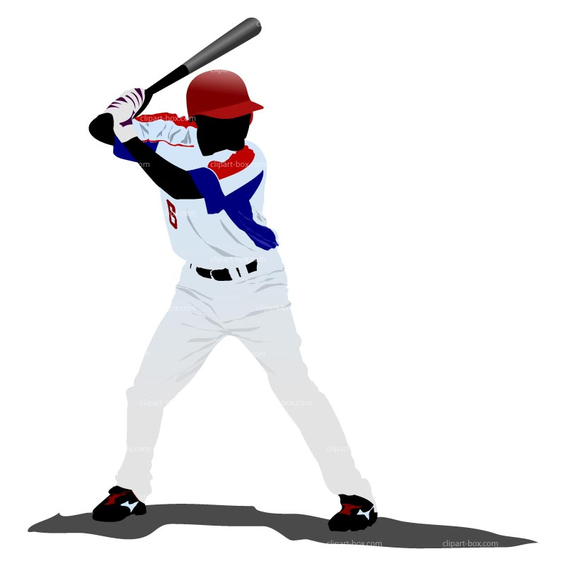 Clip art baseball player clipartfest