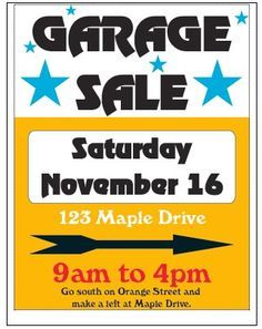Garage sale 0 images about fundraiser ideas on advertising cliparts