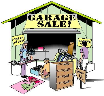 Garage sale clip art free yah annual garage sale windy city