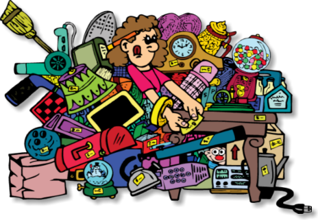 Garage sale rummage sale clipart hostted 2