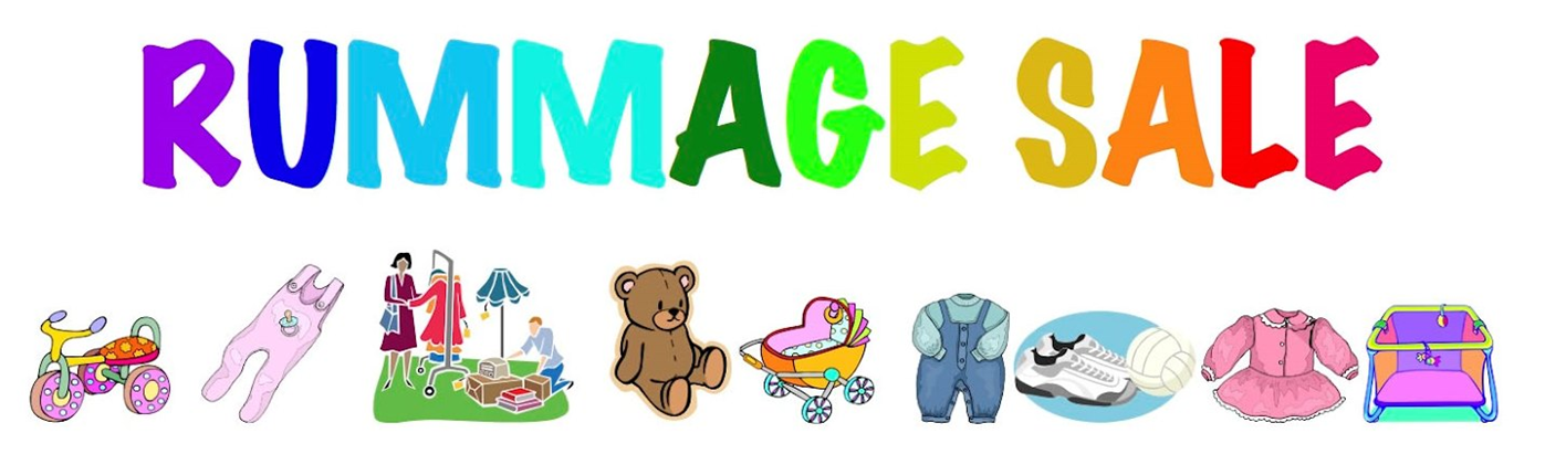 Garage sale rummage sale clipart hostted
