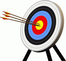 Animated archery clipart clipartfest