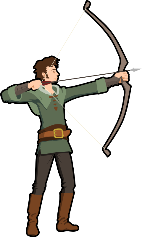 Archery free to use clipart 2