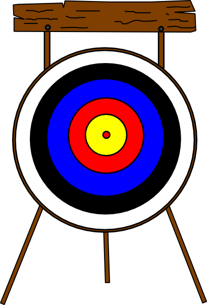 Archery free to use clipart