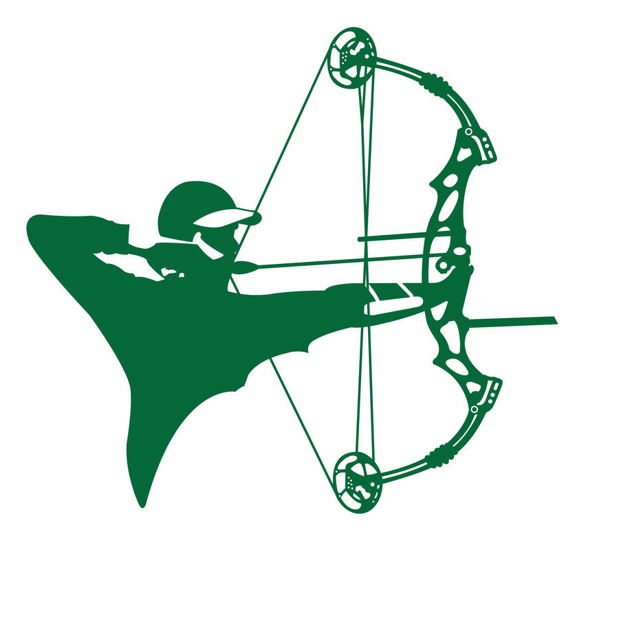 Archery hunting clipart 2