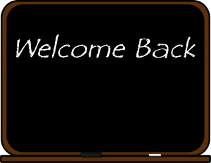 Blackboard welcome back clip art download