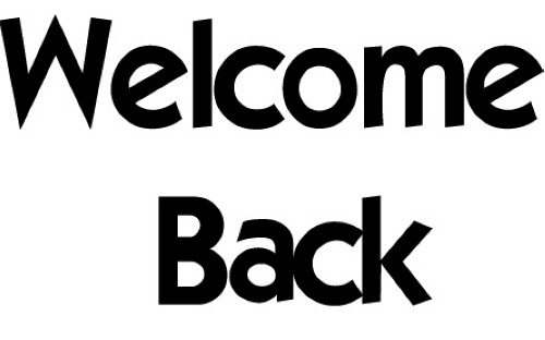 Clipart welcome back clipartfox
