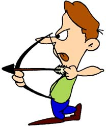 Free archery clipart download free sports clip art funny