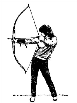 Free archery clipart graphics images and photos