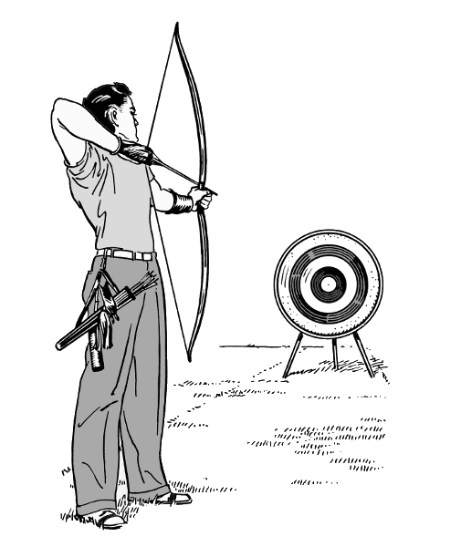 Free archery clipart the cliparts