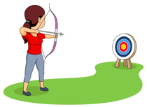 Free sports archery clipart clip art pictures graphics 2