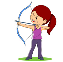 Free sports archery clipart clip art pictures graphics 3