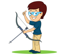 Free sports archery clipart clip art pictures graphics 4