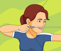 Free sports archery clipart clip art pictures graphics 6