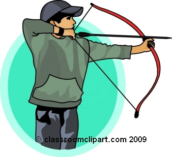 Free sports archery clipart clip art pictures graphics 8