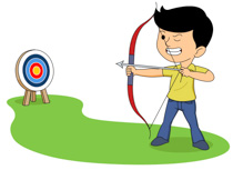 Free sports archery clipart clip art pictures graphics