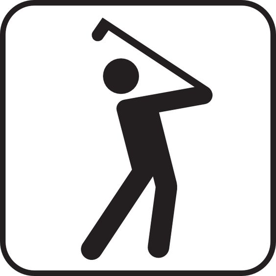 Golf club clip art course clip art vector