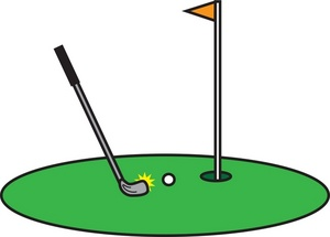 Golf club golf clip art