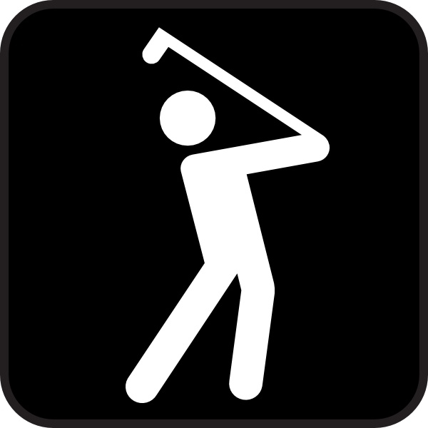 Golf club golf course clip art free vector in open office drawing svg