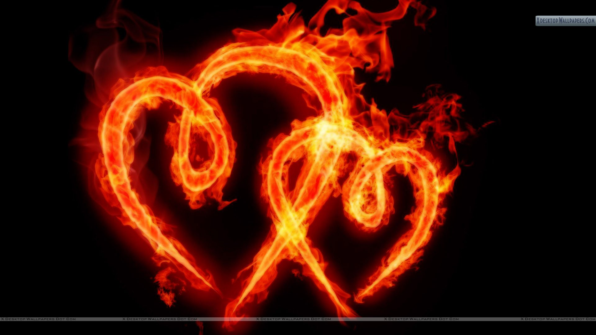 Heart with flames cool hearts on fire abtd cliparts