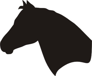 Horse head outline free download clip art on