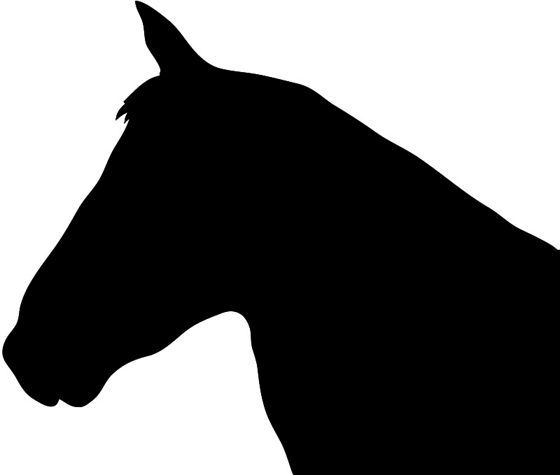 Horse head vector free download clip art on