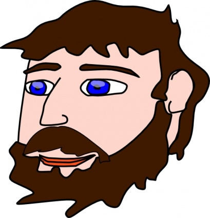 Men beard clipart