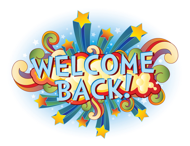 Welcome back graphics clipart 2