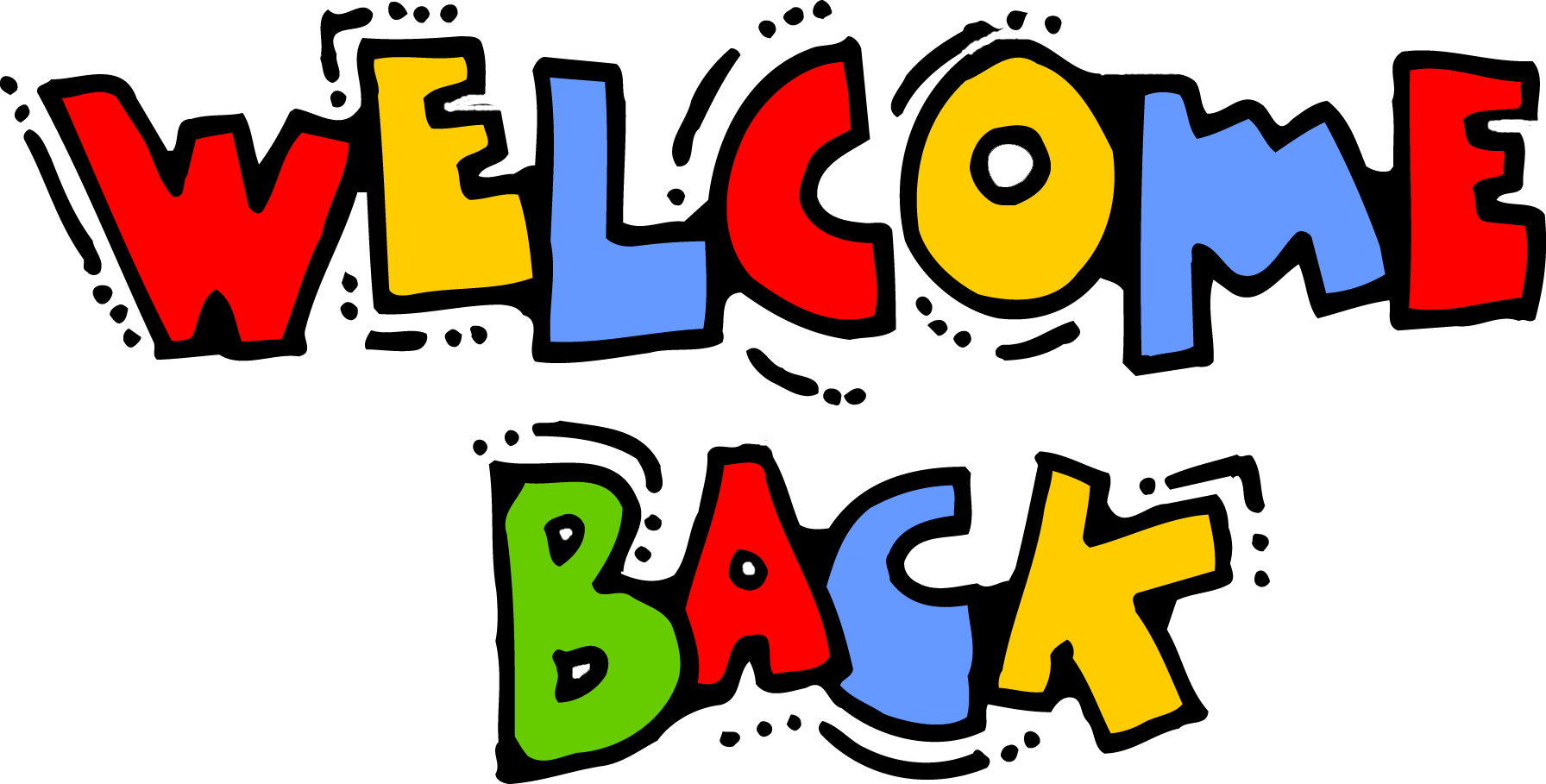 Welcome Back Clipart
