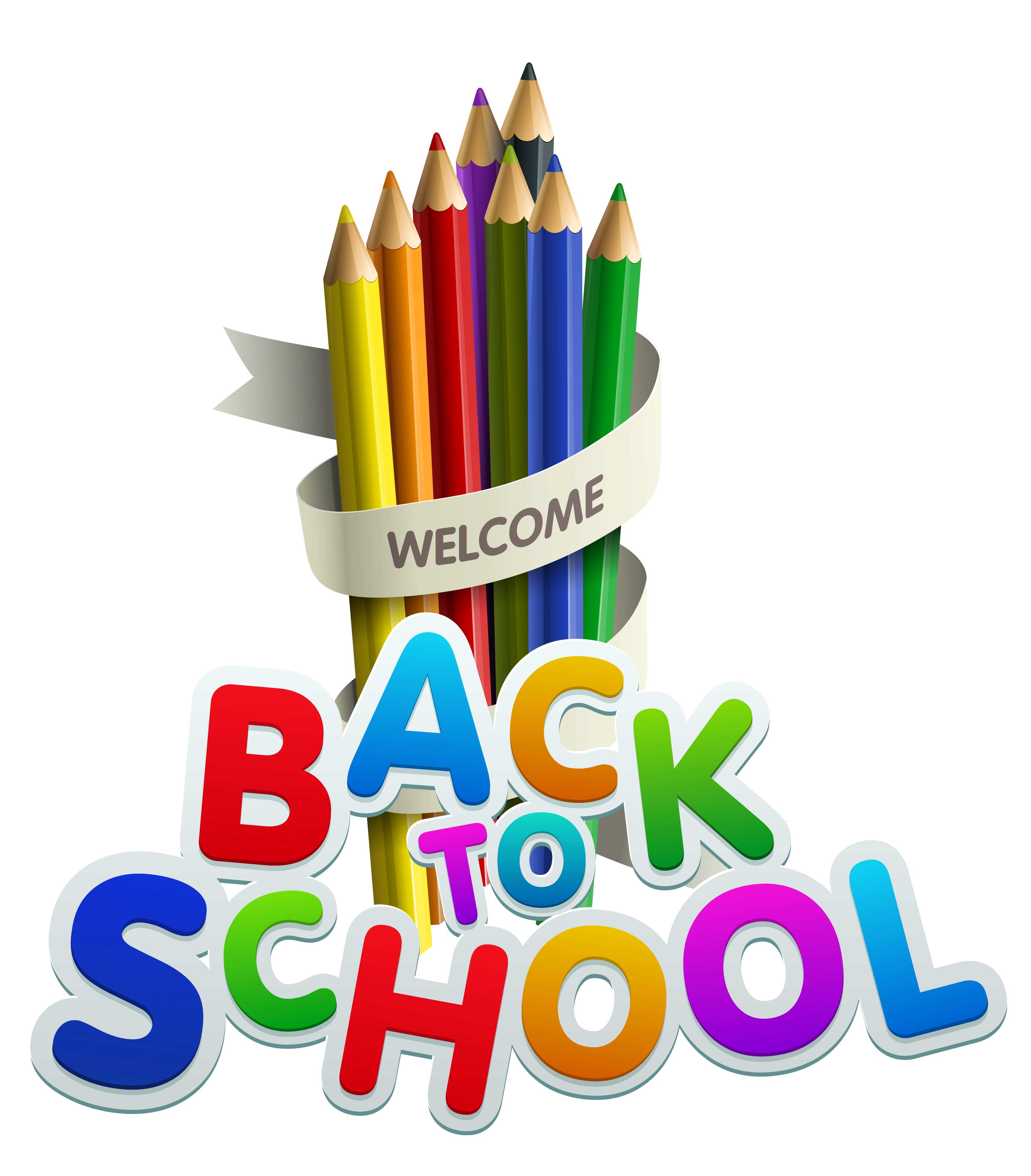 Welcome back to school clip art clipartfest