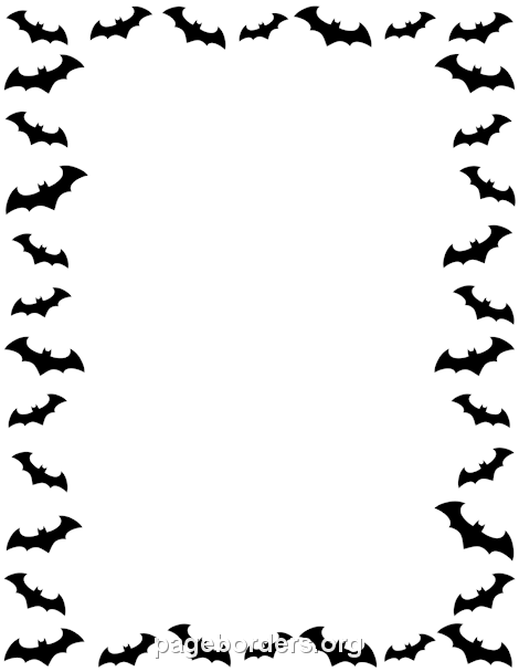 Free halloween borders clip art page and vector graphics 2