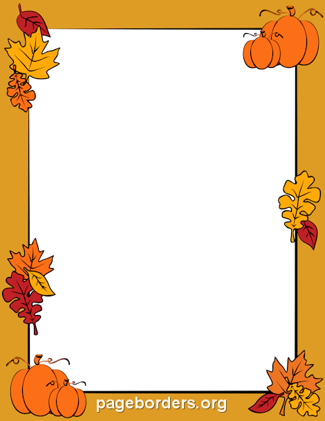 Free halloween borders clip art page and vector graphics 3